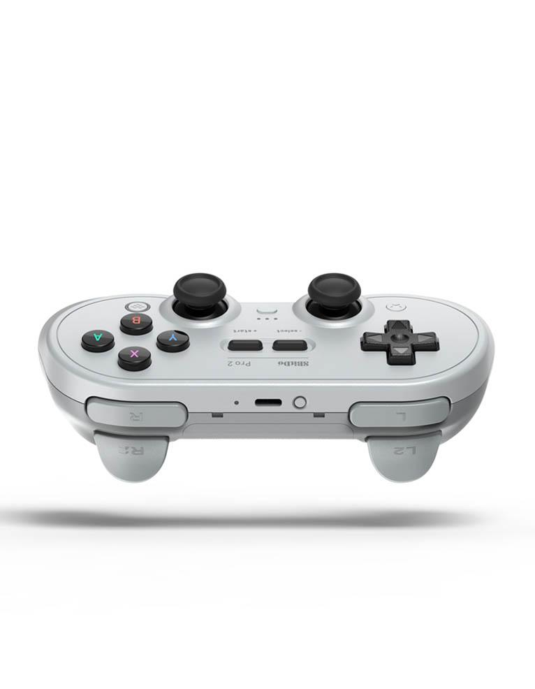 pad kontroler 8bitdo pro2 grey gray edition 5