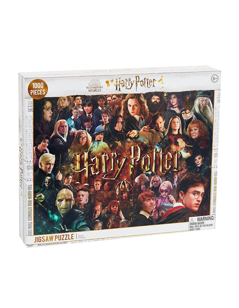 puzzle harry potter collage 1000 pieces jigsaw