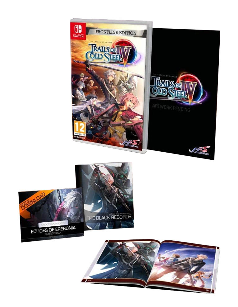 the legend of heroes trials of cold steel iv 4 frontline edition gra nintendo switch 2