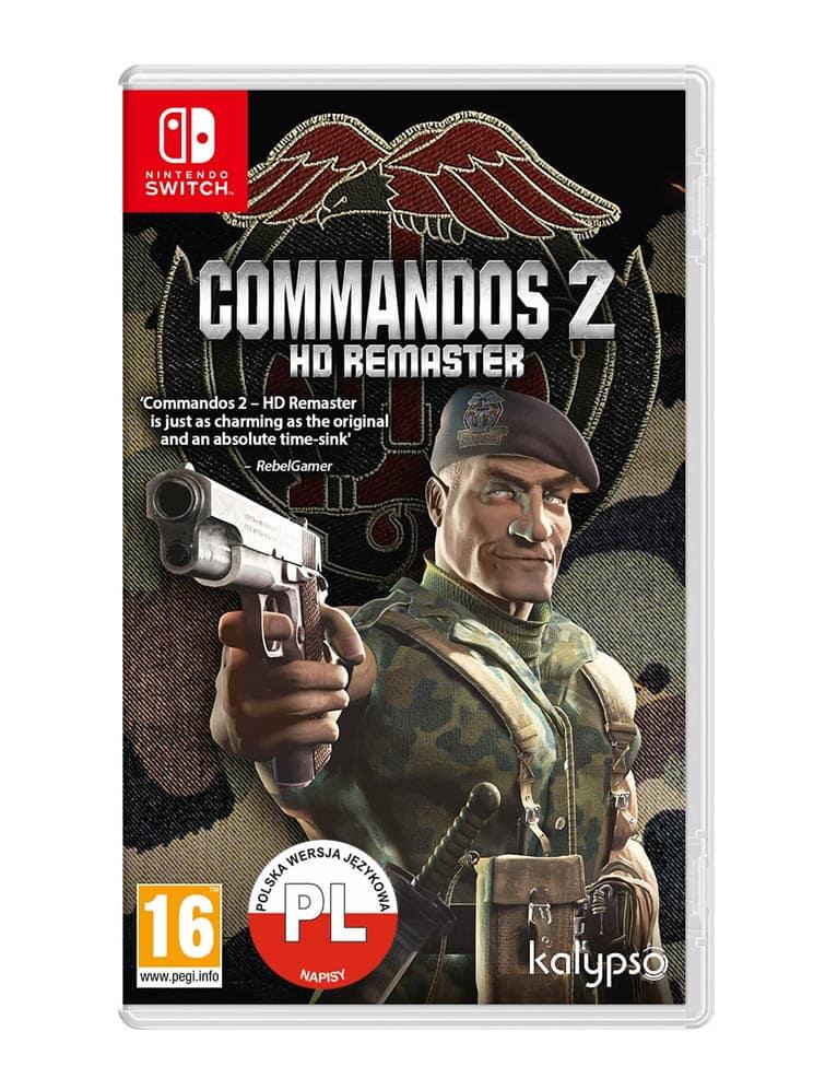 commandos 2 hd remaster gra nintendo switch pl