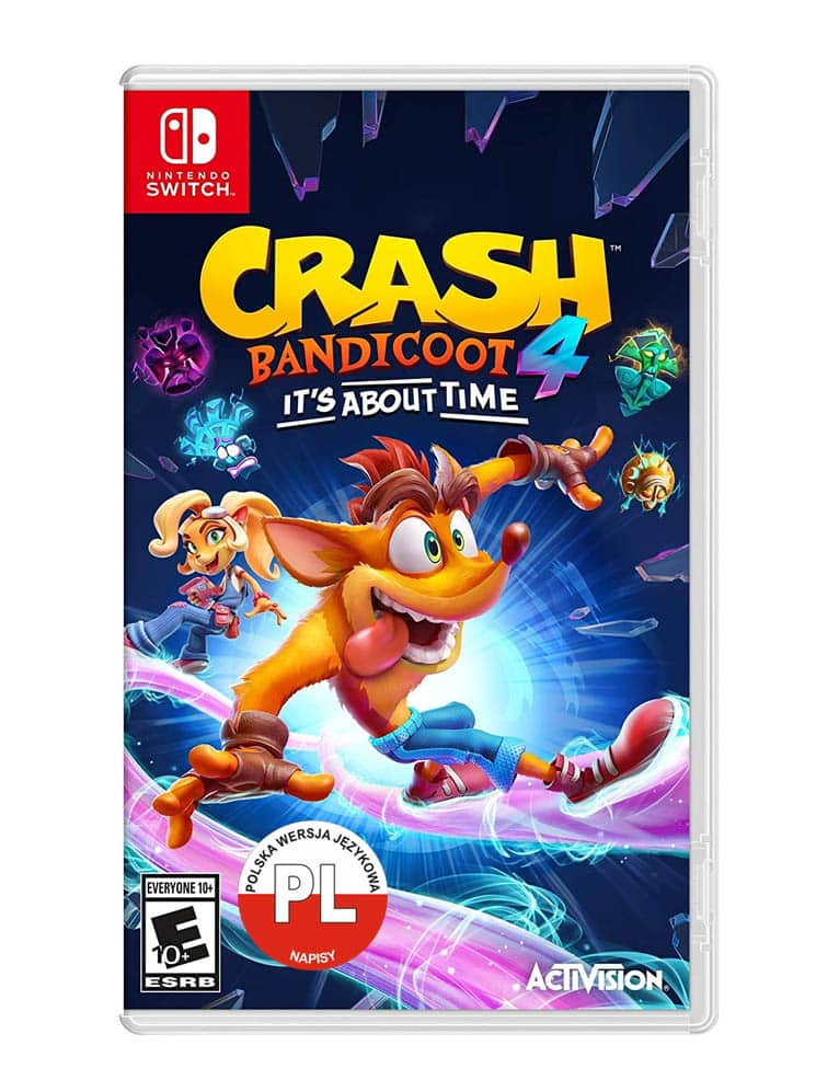 crash 4 najwyzszy czas its about time gra nintendo switch pl