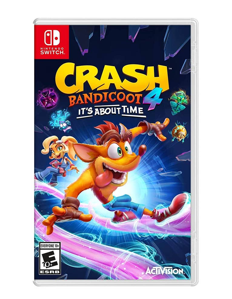 crash 4 najwyzszy czas its about time gra nintendo switch