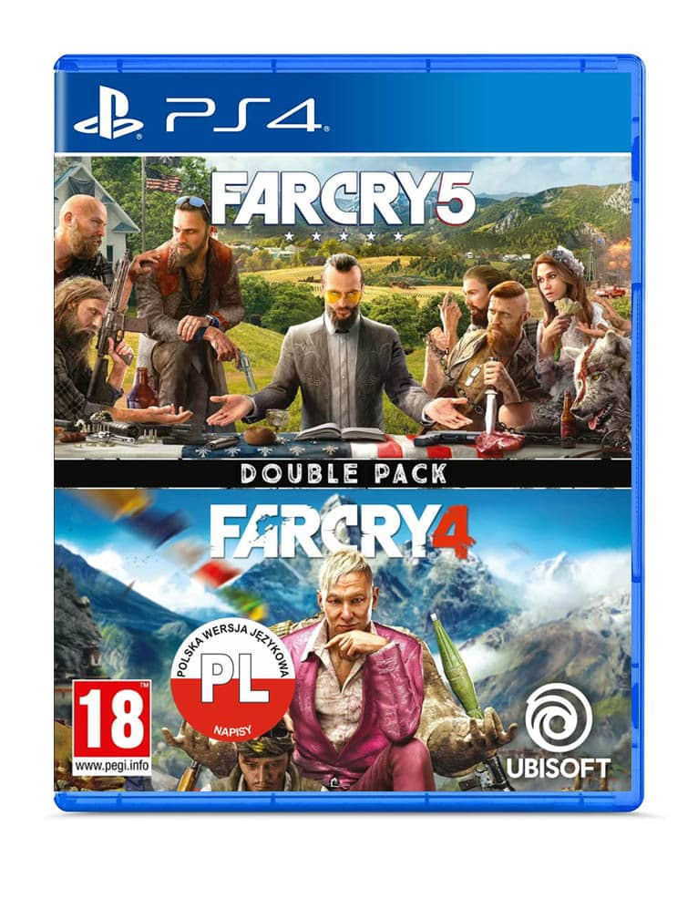 far cry 4 far cry 5 double pack gra ps4 ps5