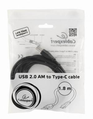 kabel micro usb typu c gembrid 1 8 metra