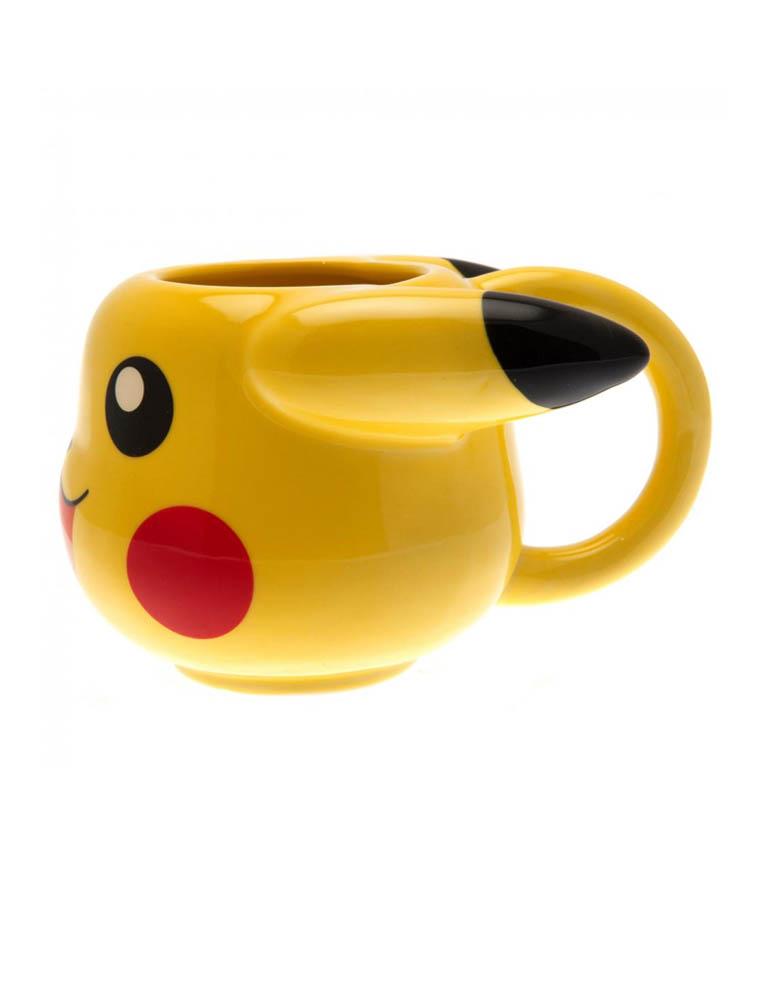 kubek 3d pokemon pikachu 3