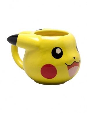 kubek 3d pokemon pikachu