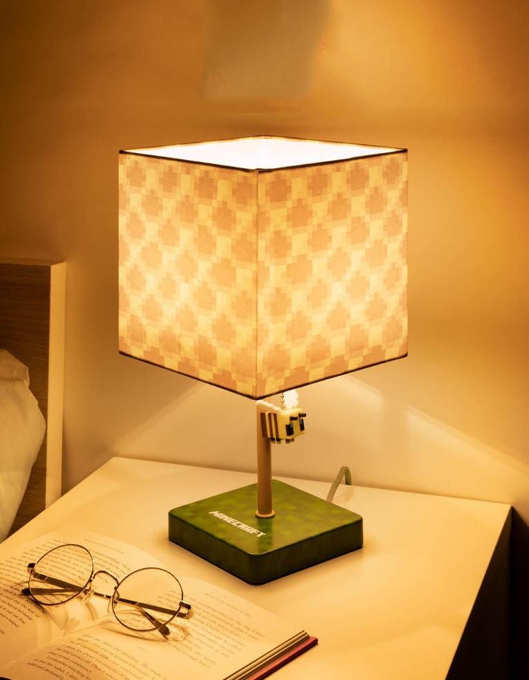 lampka pszczola plaster miodu minecraft 4