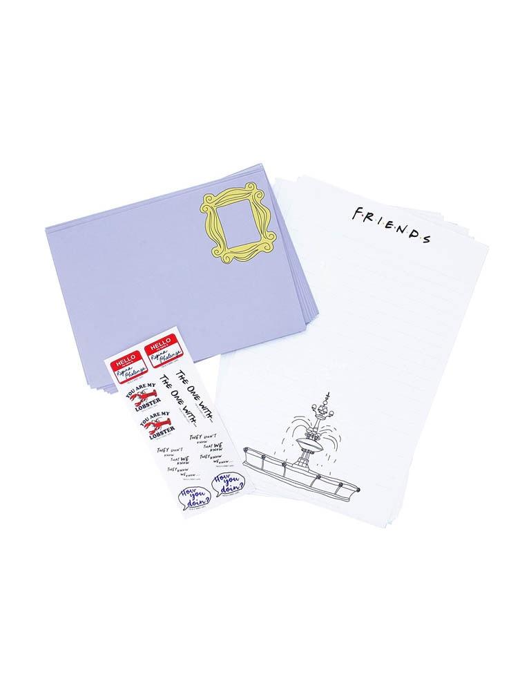 letter writing set friends przyjaciele 2