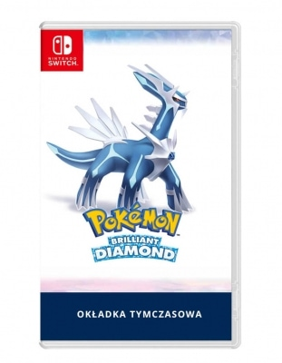 pokemon brilliant diamond gra nintendo switch tymczasowa