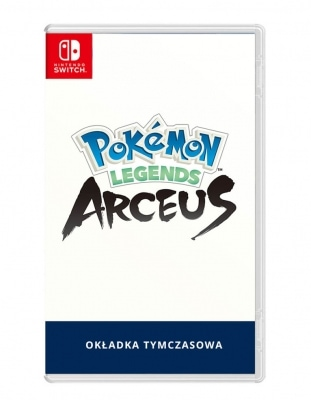 pokemon legends arceus gra nintendo switch tymczasowa