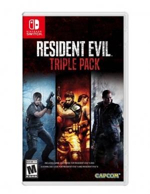 resident evil triple pack gra nintendo switch