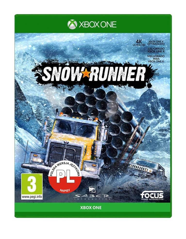snow runner gra xbox one pl
