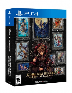 kingdom hearts all in one package gra ps4 ps5
