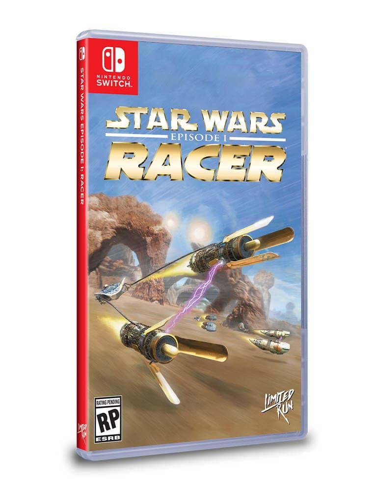 star wars episode 1 racer gra nintendo switch limited run