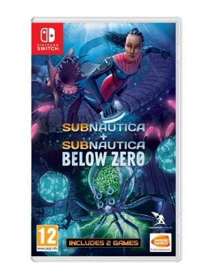 subnautica subnautica below zero gra nintendo switch