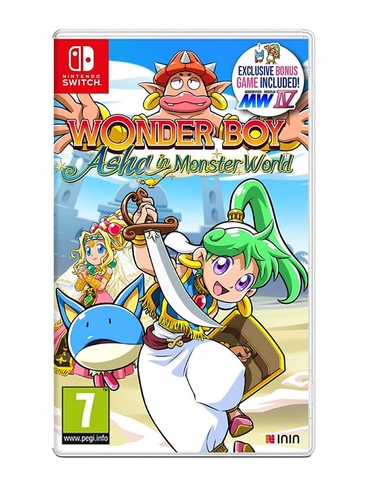 wonder boy asha in monster world gra nintendo switch
