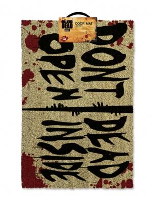wycieraczka pod drzwi door mat the walking dead