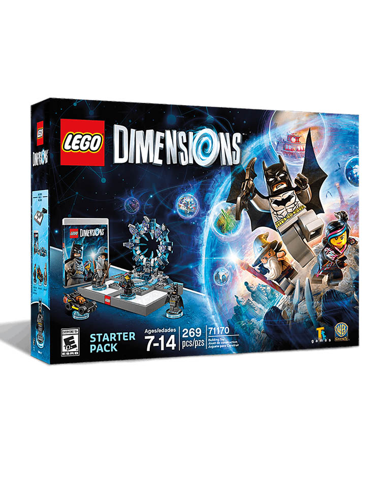 lego dimensions gra ps3 starter pack