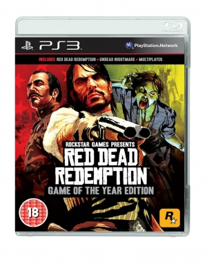 red dead redemption goty game of the year edition gra ps3