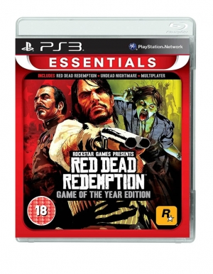 red dead redemption goty game of the year edition gra ps3 essentials
