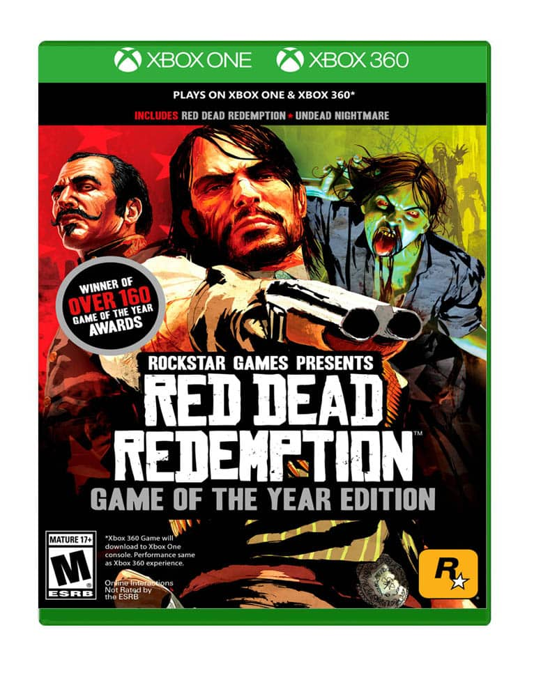 red dead redemption goty game of the year edition gra xbox one xbox 360