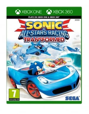 sonic and all stars racing transformed gra xbox one xbox 360