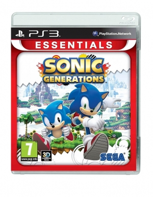 sonic generations gra ps3 essentials