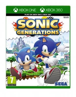 sonic generations gra xbox one xbox 360