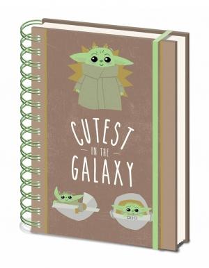 zeszyt notes star wars gwiezdne wojny mandalorian baby yoda