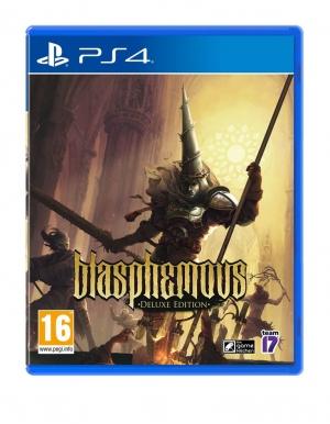 blasphemous deluxe edition gra ps4