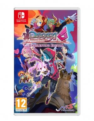 disgaea 6 defiance of destiny unrelenting edition gra nintendo switch