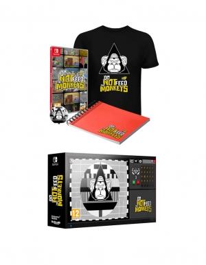 do not feed the monkeys gra nintendo switch edycja kolekcjonerska collectors edition 2