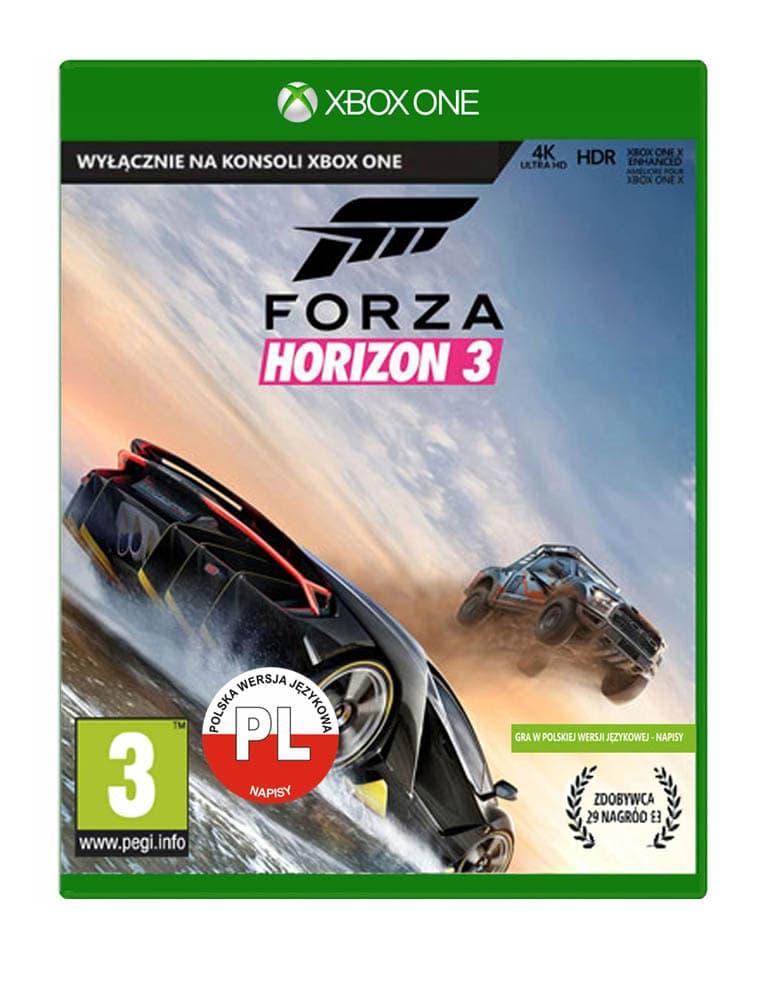 forza horizon 3 gra xbox one