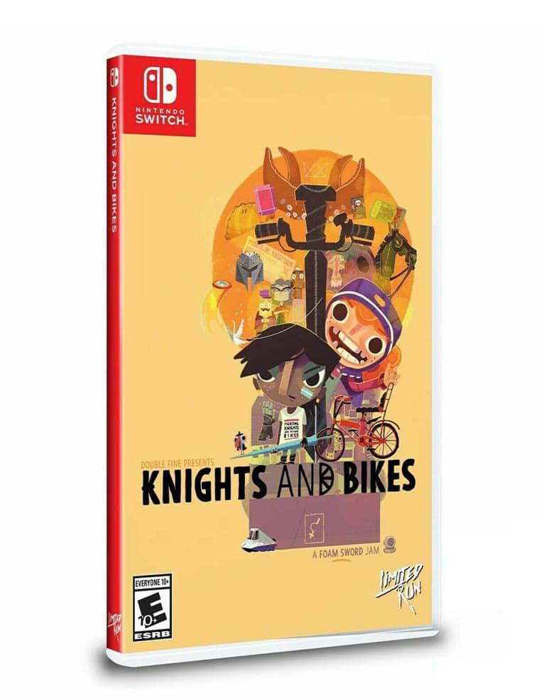 knights and bikes gra nintendo switch limited run