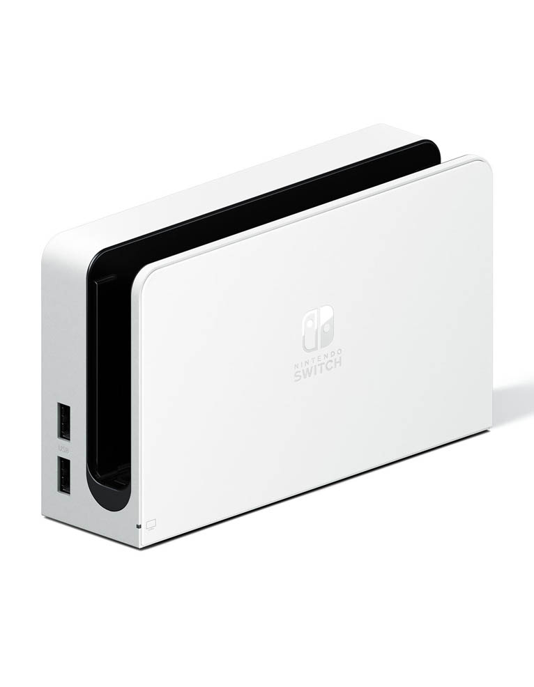 konsola nintendo switch oled biala white 7