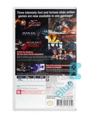 ninja gaiden master collection gra nintendo switch logo