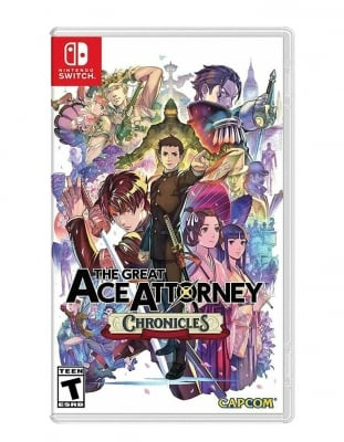 the great ace attorney chronicles gra nintendo switch