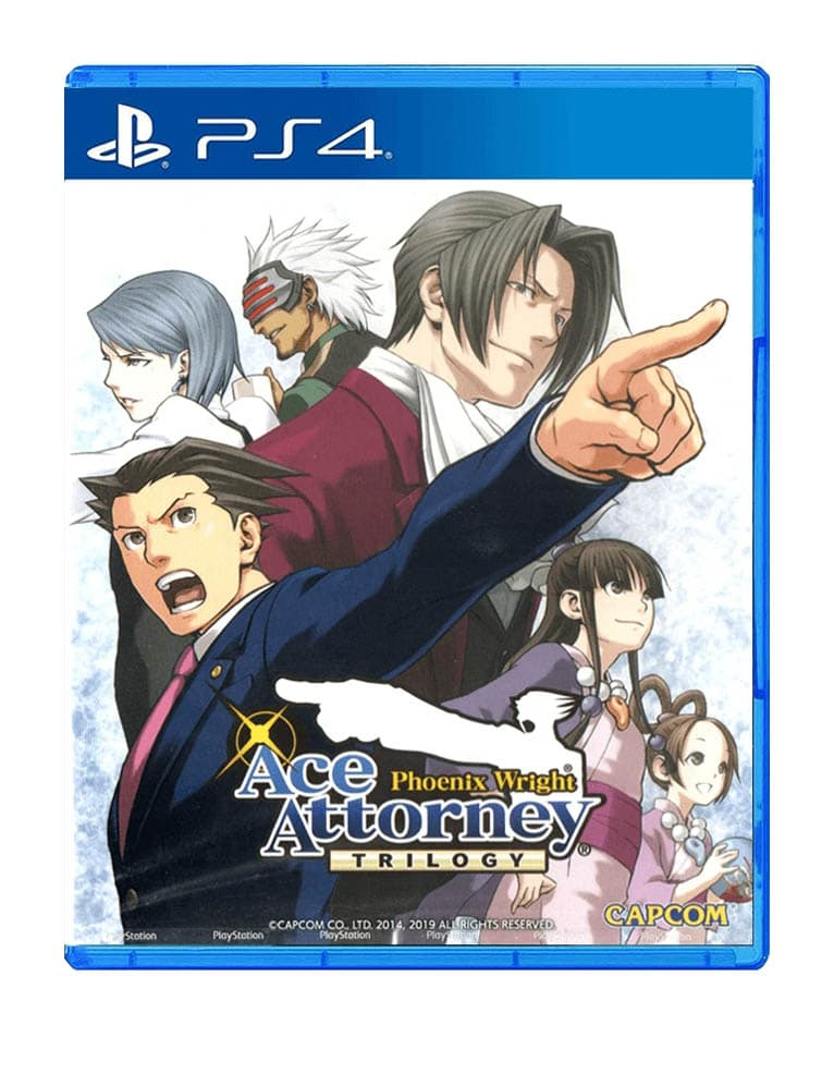 ace attorney phoenix wright trilogy gra ps4 ps5
