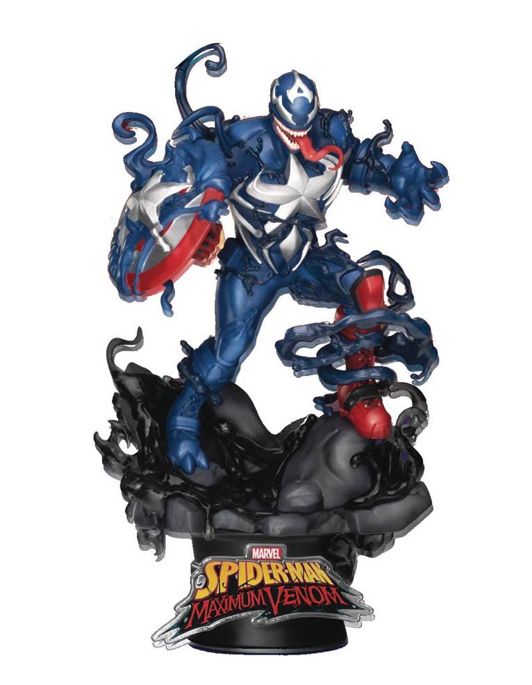 figurka captain america maximum venom diorama stage 065 marvel