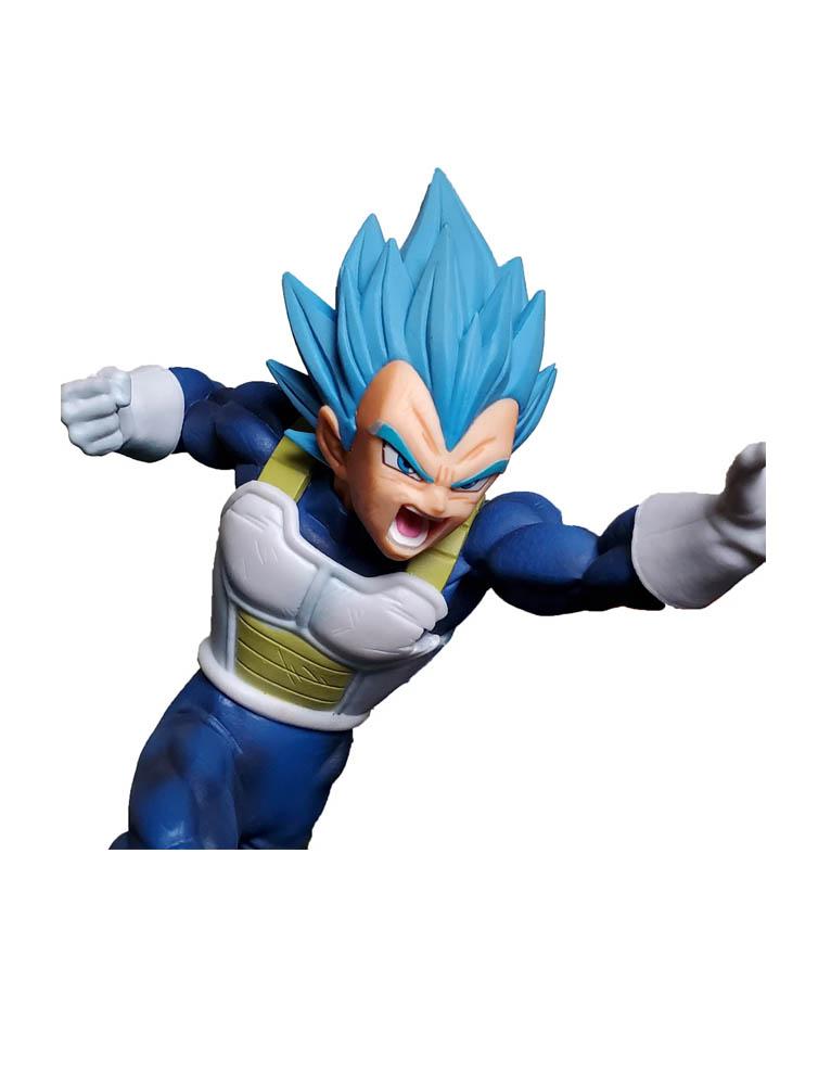 figurka dragon ball super saiyan god vegeta blue niebieski 3
