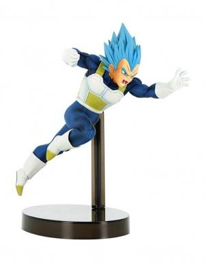 figurka dragon ball super saiyan god vegeta blue niebieski