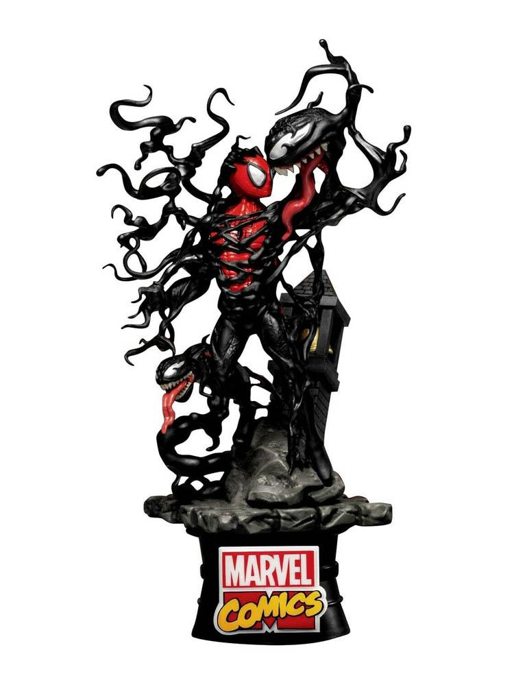 figurka spider man vs venom ds 040 marvel comics diorama stage