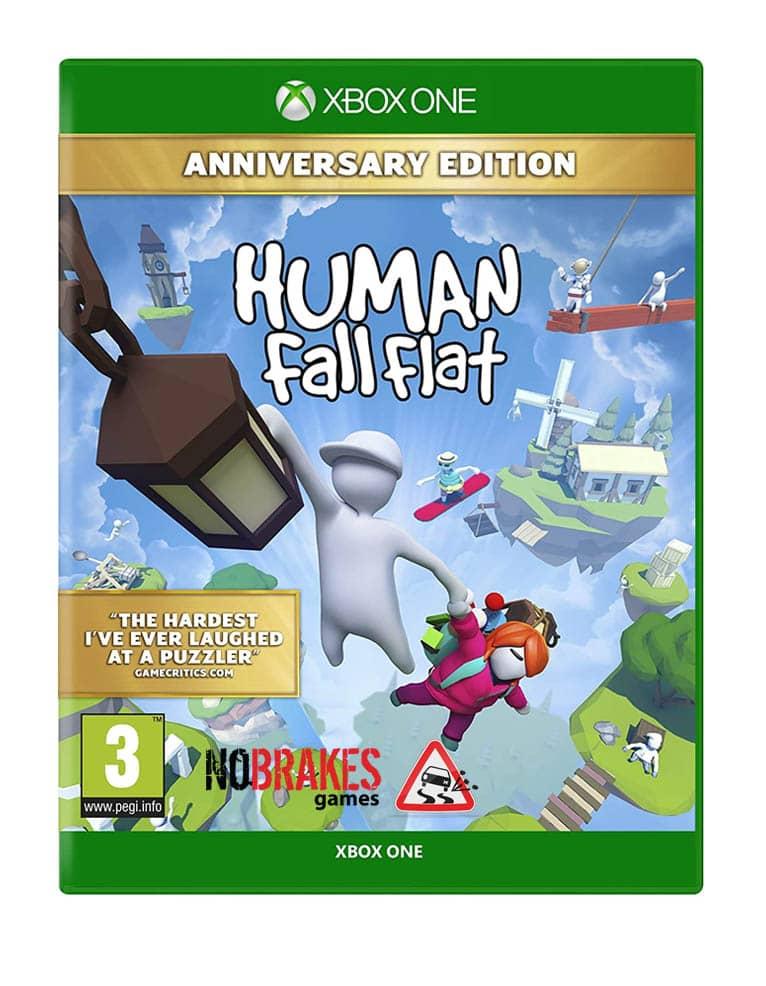 human fall flat anniversary edition gra xbox one no brakes games