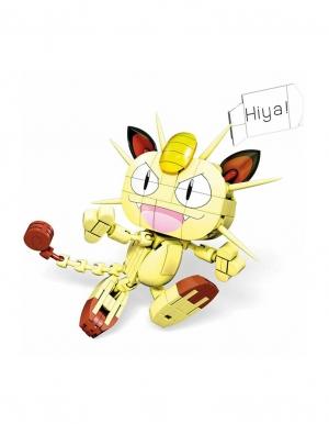 male klocki pokemon meowth miaouss mega construx 2