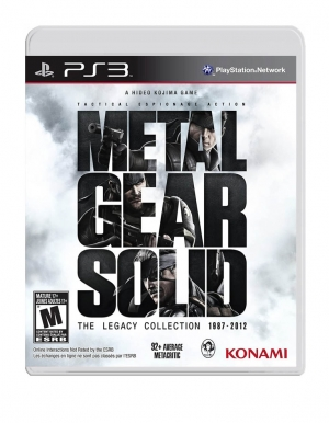 metal gear solid the legacy collection gra ps3