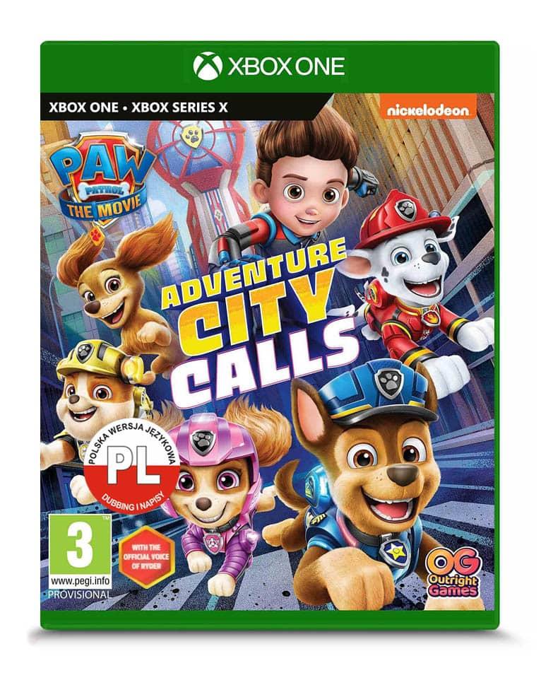 psi patrol miasto przygod wzywa gra xbox one series x