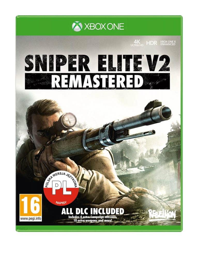 sniper elite v2 remastered gra xbox one xbox series x