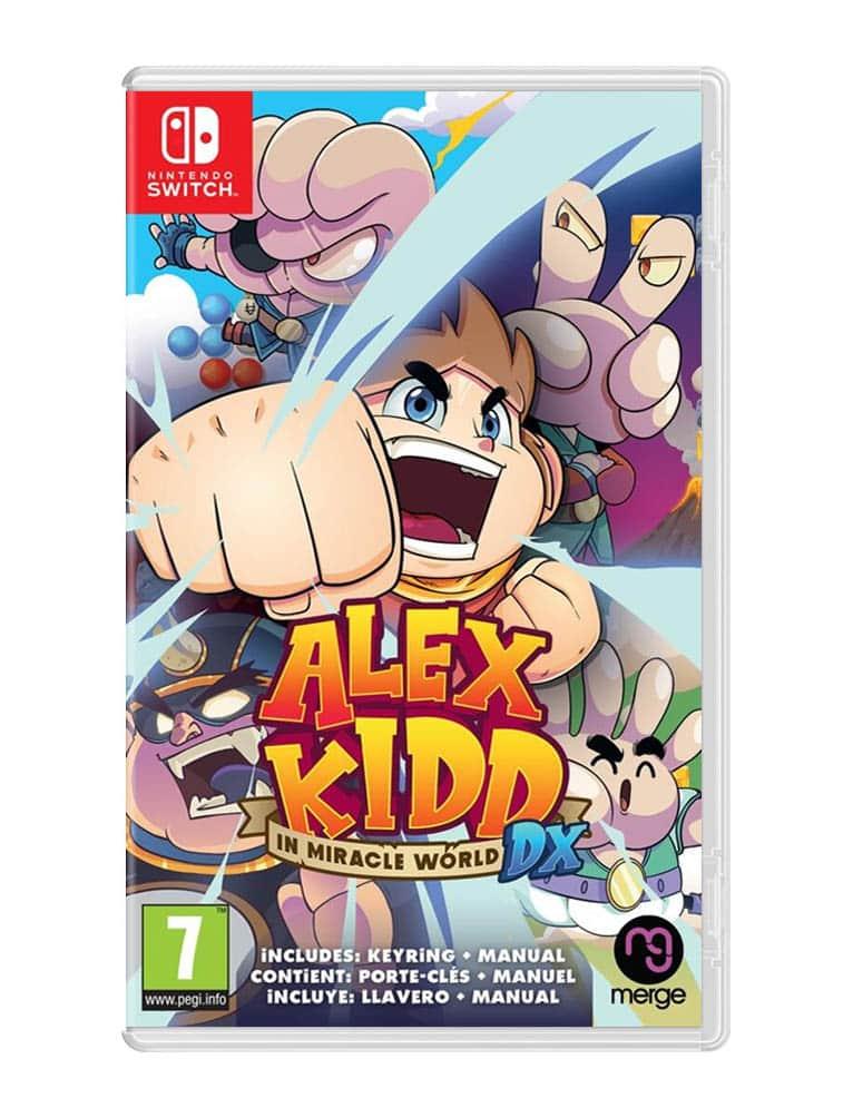 alex kidd in miracle world dx gra nintendo switch