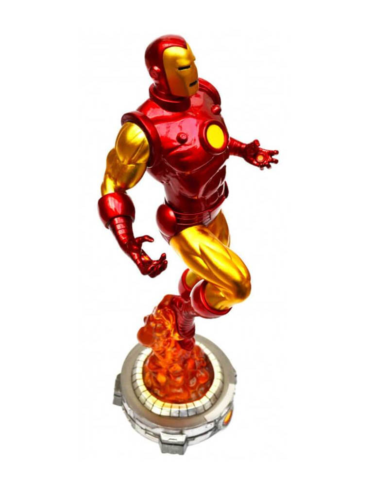 figurka classic iron man marvel diorama 2