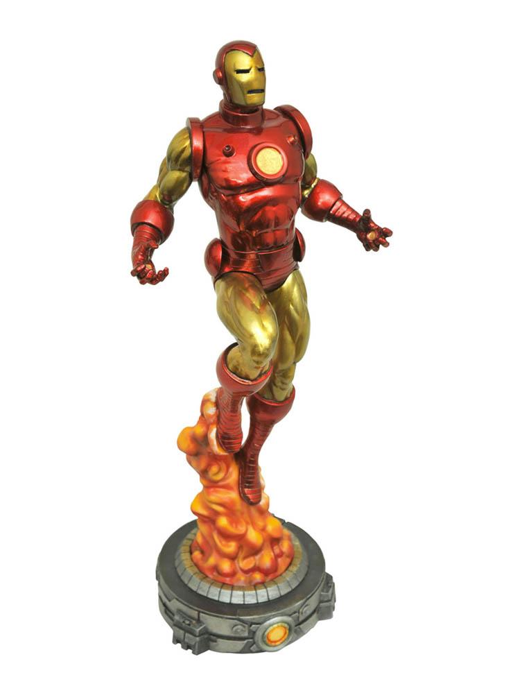 figurka classic iron man marvel diorama 4